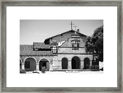 Mission San Antonio De Padua No1 Framed Print by Mic DBernardo