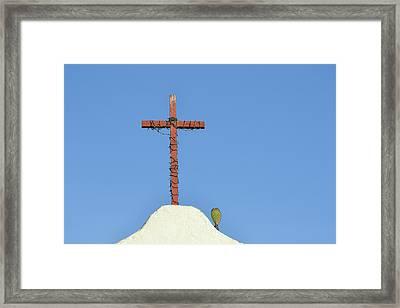Mission San Antonio De Pala Framed Print