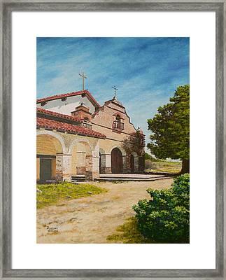 Mission San Antonio Framed Print
