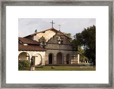 Mission San Antonio Framed Print