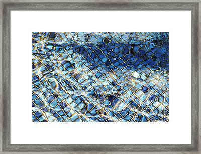 Mission San Buenaventura Mosaic Framed Print