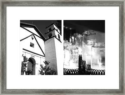 Mission San Buenaventura No1 Framed Print by Mic DBernardo