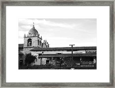 Mission San Carlos Borromeo De Carmelo No1 Framed Print by Mic DBernardo