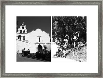 Mission San Diego De Alcala No1 Framed Print by Mic DBernardo