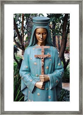 Framed Print featuring the photograph Mission San Fernando Rey De Espana by Kyle Hanson