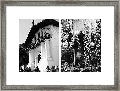 Mission San Francisco De Asis Aka Mission Dolores No1 Framed Print by Mic DBernardo