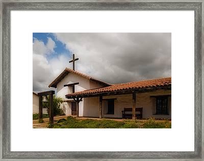 Mission San Francisco De Solano Framed Print by Mick Burkey