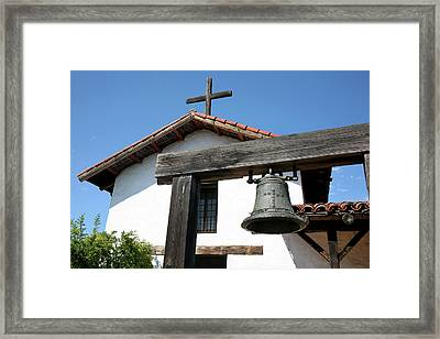 Mission San Francisco De Solano - Sonoma Framed Print by Art Block Collections