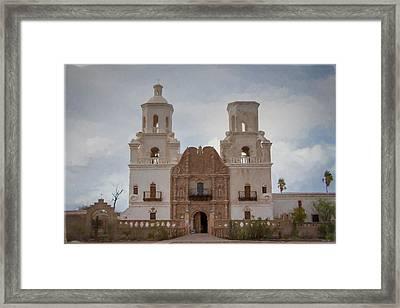 Mission San Xavier Del Bac Framed Print
