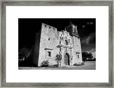 Mission San Jose - Infrared Framed Print