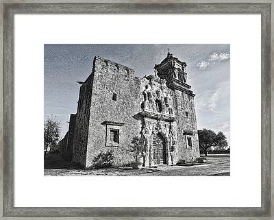 Mission San Jose - No 2 Framed Print by Stephen Stookey