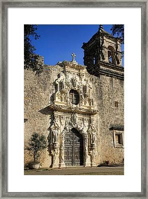 Mission San Jose - San Antonio Framed Print by Stephen Stookey