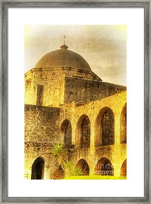 Mission San Jose San Antonio Texas Framed Print