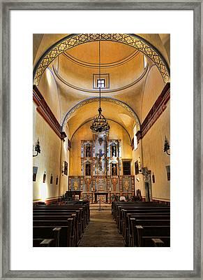 Mission San Jose Sanctuary Framed Print by Stephen Stookey