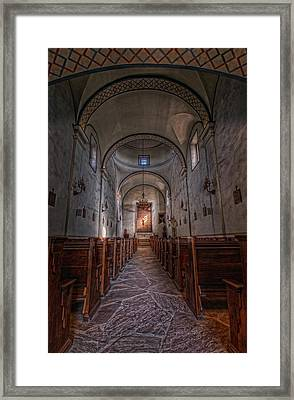 Mission San Jose Framed Print