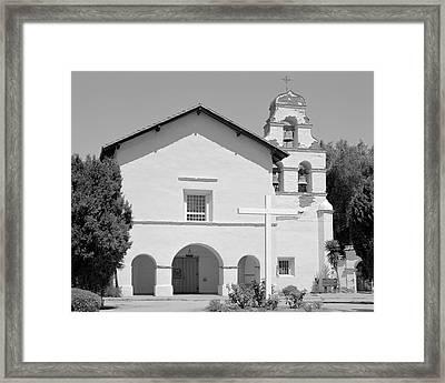 Mission San Juan Bautista California Framed Print