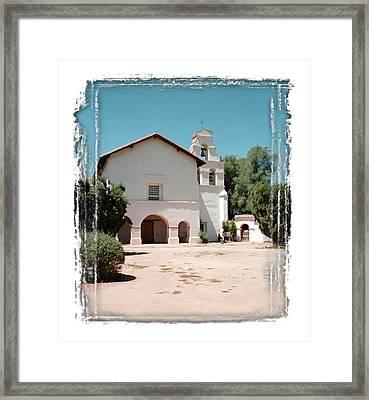 Mission San Juan Bautista - II Framed Print