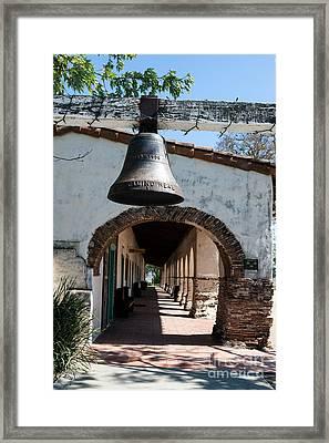 Mission San Juan Bautista Framed Print