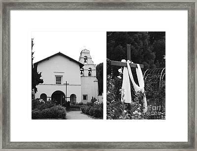 Mission San Juan Bautista No1 Framed Print by Mic DBernardo