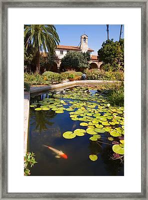 Mission San Juan Capistrano California Framed Print by Utah Images