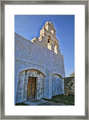 Mission San Juan Capistrano - San Antonio Framed Print by Stephen Stookey