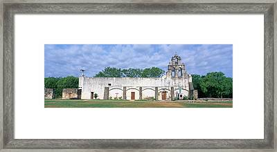 Mission San Juan From Ca. 1750, San Framed Print