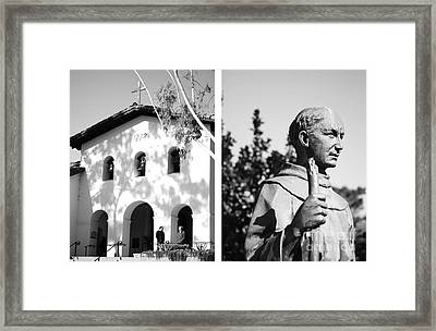 Mission San Luis Obispo No1 Framed Print by Mic DBernardo