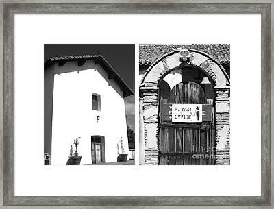 Mission San Miguel Arcangel No1 Framed Print by Mic DBernardo