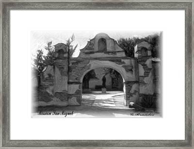 Mission San Miguel Framed Print
