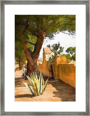 Mission San Miguel Wall Framed Print