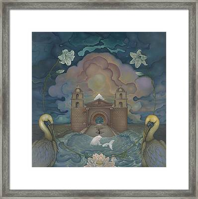 Mission Santa Barbara Framed Print