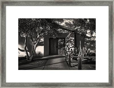 Mission Santa Ines Framed Print