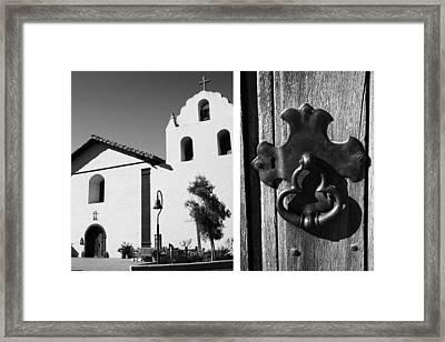 Mission Santa Ines No1 Framed Print by Mic DBernardo