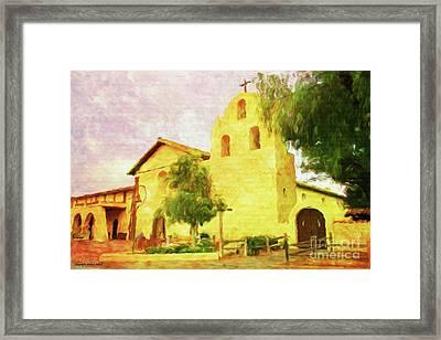 Mission Santa Ynez Solvang Framed Print