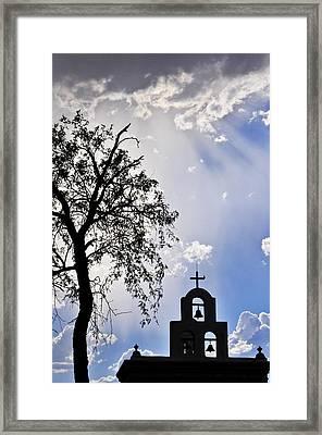 Mission Framed Print by Skip Hunt