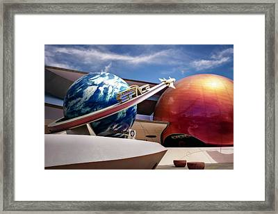 Framed Print featuring the photograph Mission Space by Eduard Moldoveanu