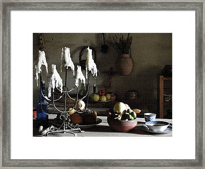 Mission Still Life 1 Framed Print