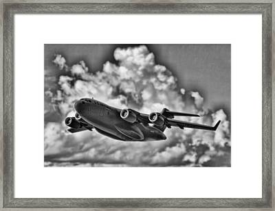 Mission-strategic Airlift Framed Print