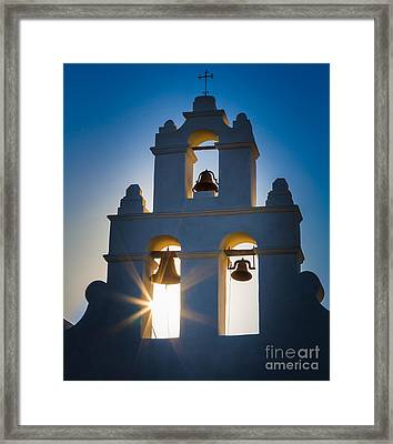 Mission Sunset Framed Print