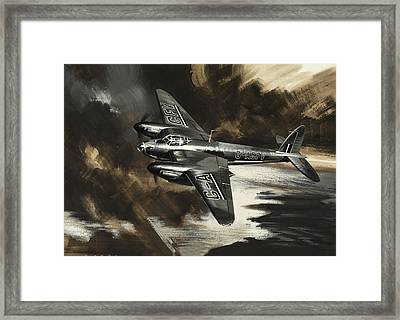 Mission To Danger Framed Print by Wilf Hardy
