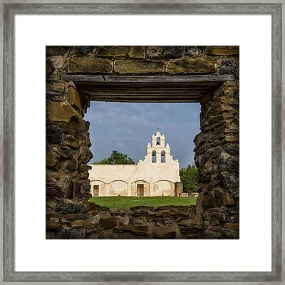 Mission View Framed Print