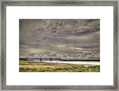 Mississipi River Framed Print