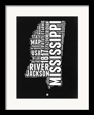 Mississippi River Framed Prints