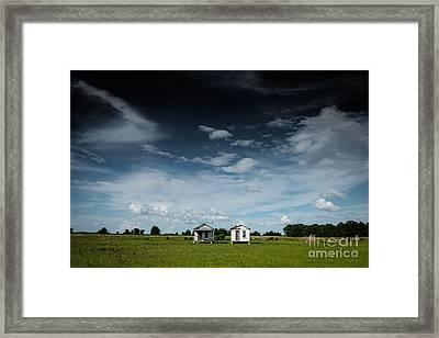 Mississippi Delta Homesteads Framed Print