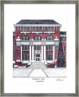 Mississippi State University Framed Print by Frederic Kohli