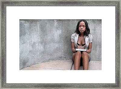 Missmi3ka 2 Framed Print by David Miller