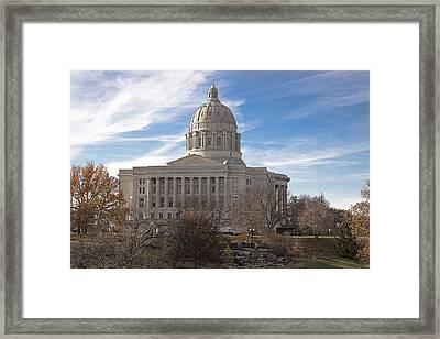 Missouri Capital Framed Print