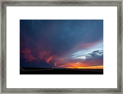 Missouri Sunset Framed Print