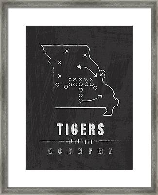 Missouri Tigers Country Framed Print