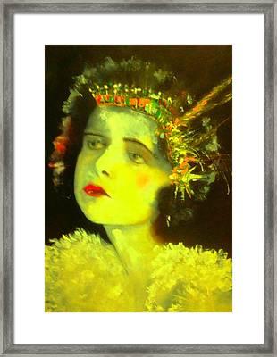 Missy E Framed Print by Frederick Lyle Morris